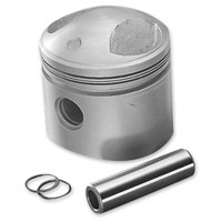 J&P Cycles® Replacement Stock Compression Piston