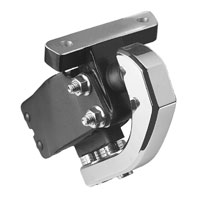 BDL Chrome Billet Front Motor Mount Stabilizer