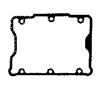 J&P Cycles® Upper Rocker Box Cover Gasket