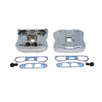 V-Twin Manufacturing Chrome Rocker Cover Kit
