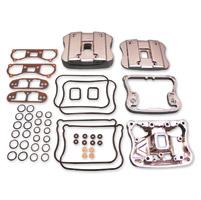 V-Twin Manufacturing Chrome Rocker Cover Kit