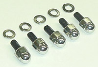Colony  Chrome Acorn Rocker Box Bolts