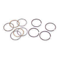 Hastings Moly Piston Ring Set +.020″ Size