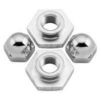 Colony Springer Fork Nut and Retainer Set