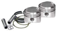 S&S Cycle Sportster 74″ Piston Set for S&S 74″ hot setups
