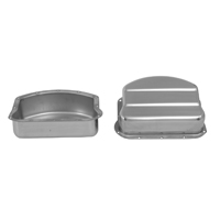 V-Twin Manufacturing Stainless Panhead Rocker Covers