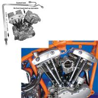 V-Twin Manufacturing Rocker Box Line Kit