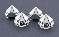 Novello ' Warrior' Head Bolt Covers