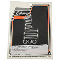 Colony Handlebar Lever and Master Cylinder Cover Mounting Kit