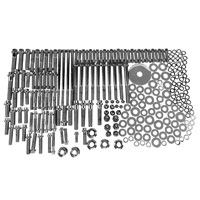 Gardner Westcott Chrome 12-Point Builders Fastener Kit for Touring Models