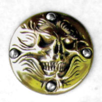 Zambini Bros. Screaming Skull Timing Cover
