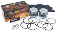 Keith Black Dome Top Big Bore Piston Kit