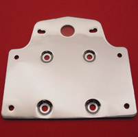 V-Twin Manufacturing Taillamp and License Backing Plate