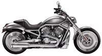 SuperTrapp V-5 2 into 1 Exhaust System for V-Rod