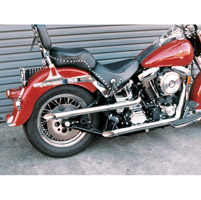 Cycle Shack Slash Out 2″ Shotgun Drag Pipes for Softail
