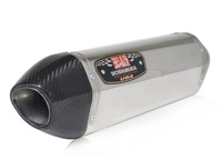 Yoshimura R-77 Stainless Steel Muffler with Carbon Fiber Tip