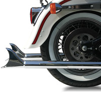 Samson 2-1/4″ Longtail Mufflers with Baffles