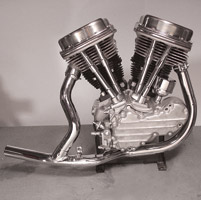 V-Twin Manufacturing Early Style Two-into-One Exhaust Header