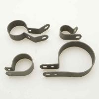V-Twin Manufacturing 4-Piece Chrome Pipe Clamp Set