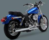 Vance & Hines 2 Into 1 Pro Pipe HS Exhaust Chrome