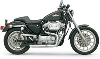 Bassani Pro-Street Chrome Straight-Cut Exhaust System