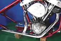 V-Twin Manufacturing Stock Type 2-into-1 Headpipe for FLH Models