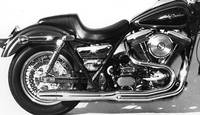 Thunderheader 2-into-1 Exhaust System for FXR w/ Mid Controls