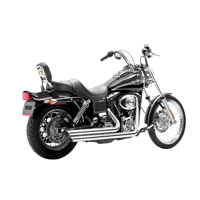 Vance & Hines Big Shots Staggered Exhaust Chrome