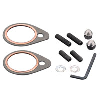 J&P Cycles® Exhaust Stud-Nut and Gasket Kit for Shovelhead