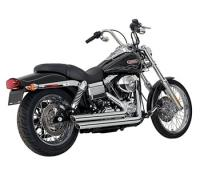 Vance & Hines Big Shots Staggered for Dyna