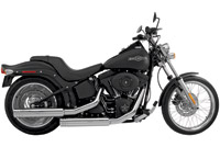 SuperTrapp Fat Duals for Softail