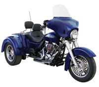 Paughco Independent Dual Headpipe Set for Trike