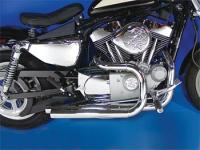 Stepped Side-by-Side Exhaust System for Sportster
