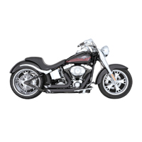 Vance & Hines Shortshot Staggered Exhaust for Softail