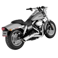 Vance & Hines Big Radius 2 into 1 Exhaust Chrome