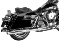 Thunderheader 2-into-1 Chrome Dual Falsee Exhaust for Touring Models