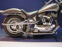 Shot Gun Exhaust for Sportster