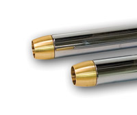 Paughco Brass Tapered Exhaust Tips For 1-3/4″ Diameter Pipes