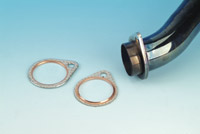Genuine James Exhaust Pipe to Cylinder Head Gasket for Shovelhead