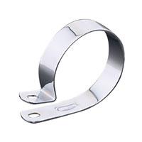 J&P Cycles® Chrome 3-1/4″ Muffler Hanger Clamps