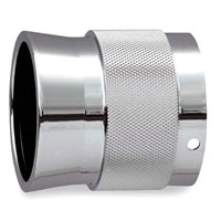 Rush Performance Tips Flared End with Solid Knurled band