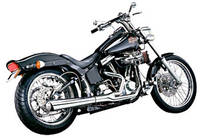 SuperTrapp Chrome 2-into-1 SuperMegs Exhaust System