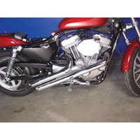 V-Twin Manufacturing Radii 2″ Side Viper Exhaust