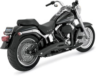 Vance & Hines Big Radius 2 into 1 Exhaust Black