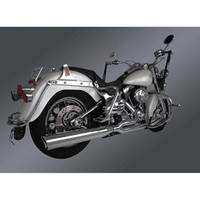 Freedom Performance Exhaust Union 2-into-1 Exhaust Chrome