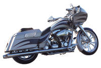 Fat Bagger Inc. True Dual Exhaust System