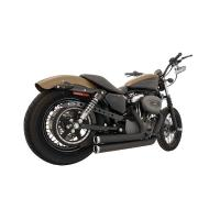 Freedom Performance Independence Shorty Exhaust Black