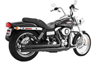 Freedom Performance Independence Long Exhaust Black