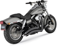 Vance & Hines Big Radius 2 into 2 Black