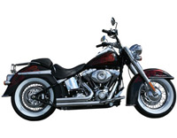 Rush Short Series Chrome Straight Cut Exhaust System